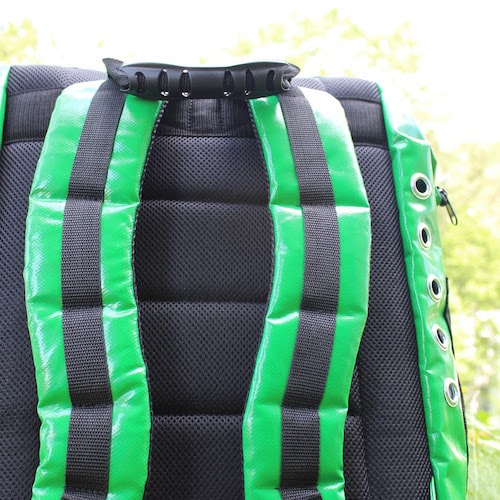 Dog Backpack - Green - High Quality