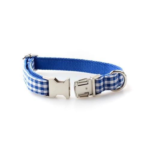 Halsband Aurach Blau / Rot