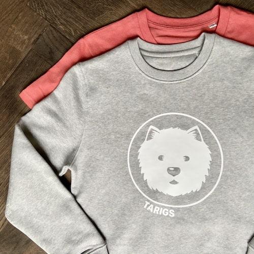 T-Shirt und Sweatshirt mit West Highland White Terrier